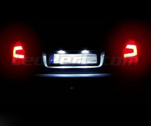 Rear LED Licence plate pack (pure white 6000K) for Skoda Fabia 2 Facelift