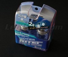 Pack of 2 MTEC Cosmos Blue H4 bulbs - xenon White