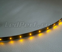 Flexible and waterproof 30cm Orange LED strip for customization