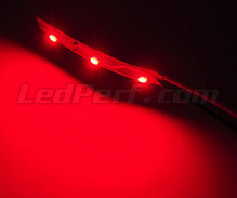 Standard flexible strip with 3 leds TL SMD red