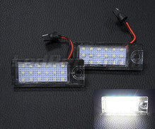 Pack of 2 LEDs modules licence plate for Volvo V40